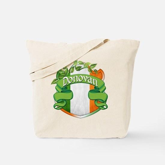 Donovan Shield Tote Bag
