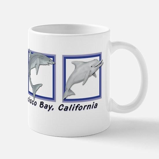 Unique Shark dolphin Mug