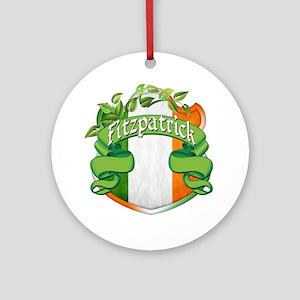 Fitzpatrick Shield Ornament (Round)