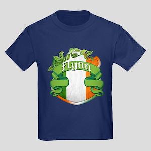 Flynn Shield Kids Dark T-Shirt