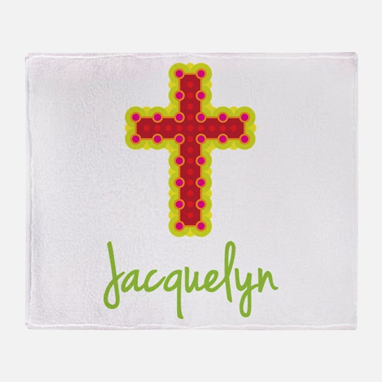 Jacquelyn Bubble Cross Throw Blanket