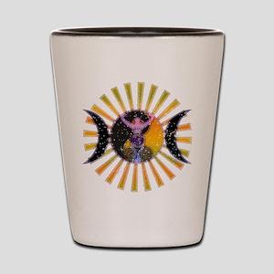 Goddess Shot Glass