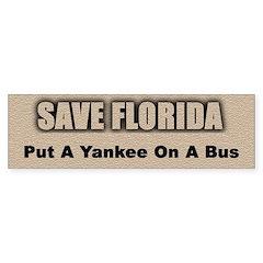 Save Florida Bumper Bumper Sticker