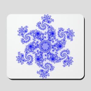 Fractal Snowflake Mousepad