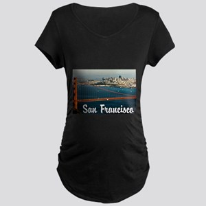 San Francisco Maternity Dark T-Shirt