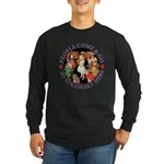 People Come and Go Long Sleeve Dark T-Shirt