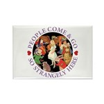 People Come and Go Rectangle Magnet (100 pack)