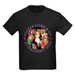 People Come and Go Kids Dark T-Shirt