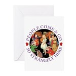 People Come and Go Greeting Cards (Pk of 20)