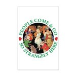 People Come and Go Mini Poster Print