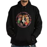 People Come and Go Hoodie (dark)