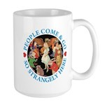 People Come and Go Large Mug