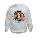 People Come and Go Kids Sweatshirt