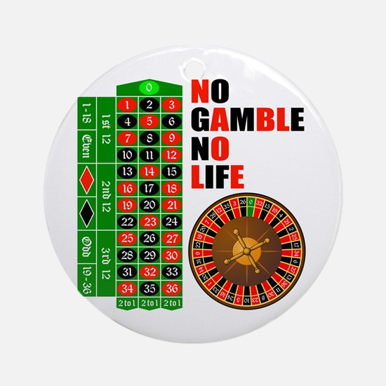 Roulette2 Ornament (Round)