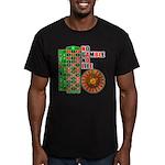 Roulette2 Men's Fitted T-Shirt (dark)