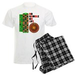 Roulette2 Men's Light Pajamas