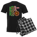 Roulette2 Men's Dark Pajamas
