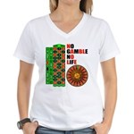 Roulette2 Women's V-Neck T-Shirt