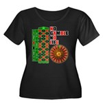 Roulette2 Women's Plus Size Scoop Neck Dark T-Shir