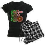 Roulette2 Women's Dark Pajamas
