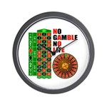 Roulette2 Wall Clock