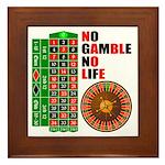 Roulette2 Framed Tile