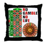 Roulette2 Throw Pillow