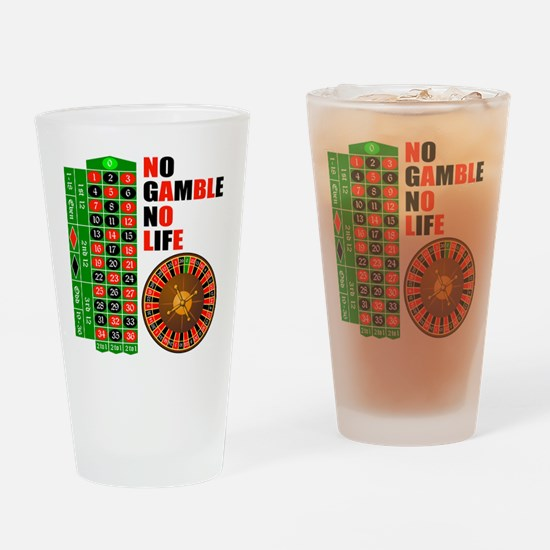 Roulette2 Drinking Glass