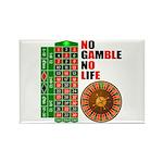 Roulette2 Rectangle Magnet