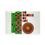 Roulette2 Rectangle Magnet (100 pack)