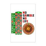 Roulette2 Mini Poster Print