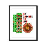 Roulette2 Framed Panel Print