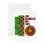 Roulette2 Greeting Card