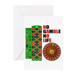 Roulette2 Greeting Cards (Pk of 20)