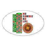 Roulette2 Sticker (Oval 50 pk)