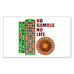 Roulette2 Sticker (Rectangle)