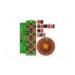 Roulette2 38.5 x 24.5 Wall Peel