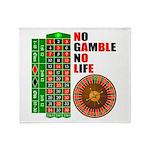 Roulette2 Throw Blanket