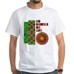 Roulette2 White T-Shirt