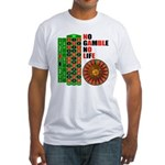 Roulette2 Fitted T-Shirt