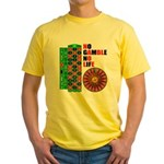 Roulette2 Yellow T-Shirt