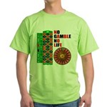 Roulette2 Green T-Shirt
