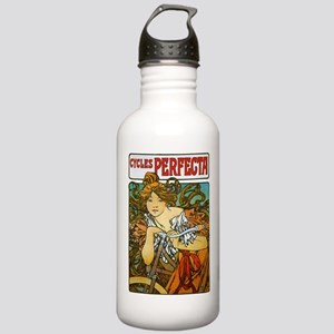 Art Nouveau Bicycle Stainless Water Bottle 1.0L