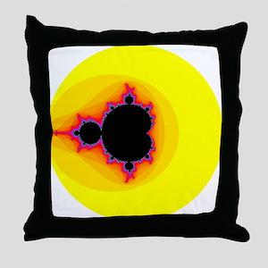 mandelbrot 8400 Throw Pillow
