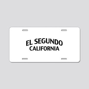 El Segundo California Aluminum License Plate