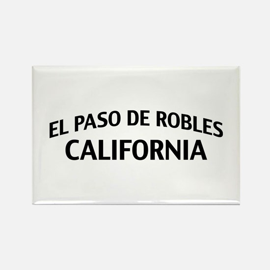 El Paso de Robles California Rectangle Magnet