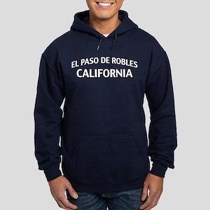 El Paso de Robles California Hoodie (dark)