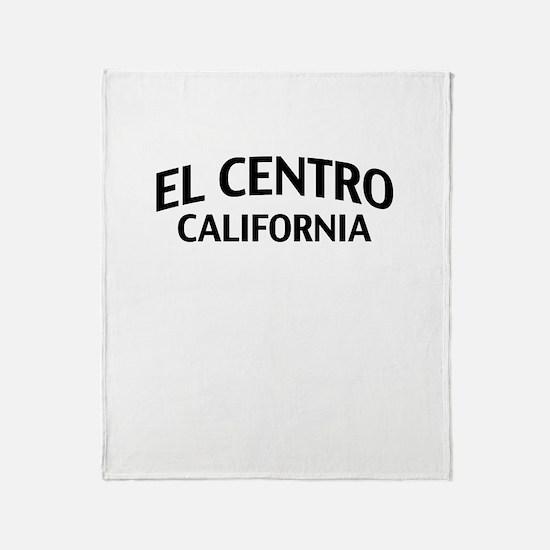 El Centro California Throw Blanket