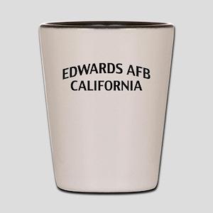 Edwards AFB California Shot Glass