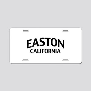 Easton California Aluminum License Plate